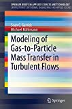 Modeling of Gas-to-Particle Mass Transfer in Turbulent Flows (SpringerBriefs in Applied Sciences and Technology)