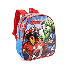 51QVB9wmW0L. SS300  - Karactermania The Avengers Force-Kindergarten Rucksack Mochila Infantil 30 Centimeters 7 Multicolor (Multicolour)