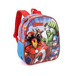 Karactermania The Avengers Force-Kindergarten Rucksack Mochila Infantil 30 Centimeters 7 (Multicolour)