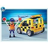Playmobil - 4319 - L'Aéroport - Agent de signalisation