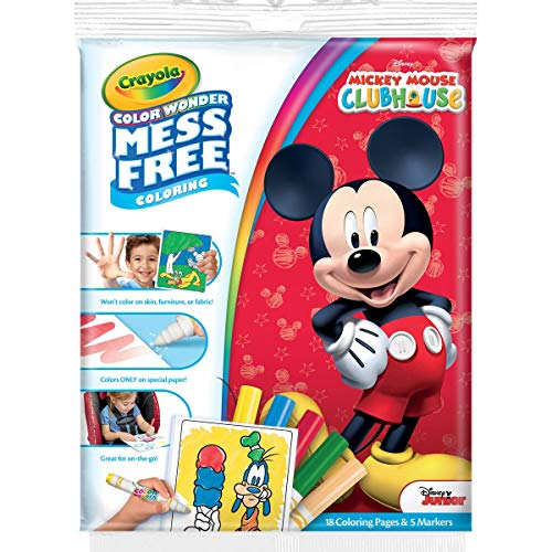 Crayola Disney Mickey Maus Wonder Malblock und Marker, Mehrfarbig