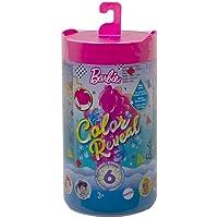 Barbie - Chelsea Color Reveal Serie Monocolor con Bambola, 6 Sorprese e Accessori, Giocattolo per Bambini 3+ Anni, GTT24