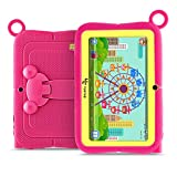 Yuntab Kids Tablet Q88R (Android 4.4 Allwinner A33 1.5Ghz Quad Core 7 '1024x600 HD Display, 512 +...