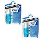 Storite® 2 Pack 2 in 1 Screen Cleaning Kit for Laptops,Mobiles,LCD,LED,Computers KCL-1023 (120 ml)