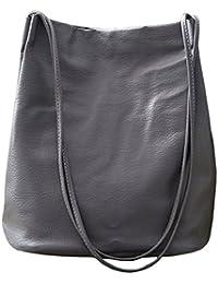 fa75d49686723 Ichic Boutique Eimer Tasche Damen Handtasche Leder Schultertasche  Umhängetaschen Beutel