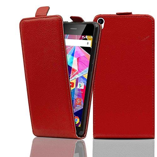 Ordica DE® Hülle Archos Diamond S Flip Case Rot KlapeHülle mit Magnetverschluss Tasche klapphülle ständer schutzhülle