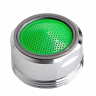 awhao 1pc Économiseur d'Eau pour Robinet Mousseur Robinet Filtre en ABS avec 24mm Coque pour Cuisine Salle de Bains