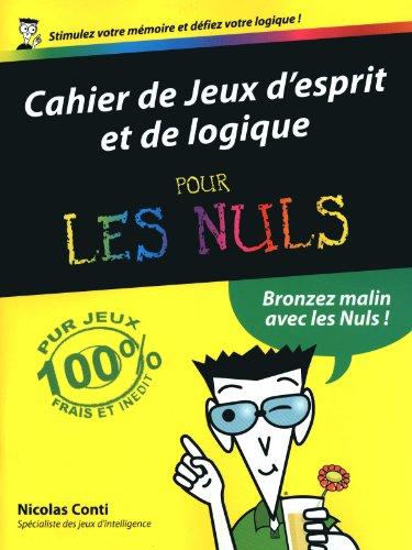 CAHIER DE JEUX ESPRIT PR NULS