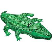 Intex 58546 - Cavalcabile Alligatore, 168 x 86 cm