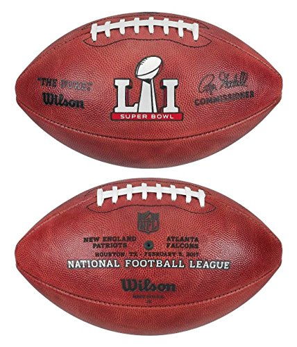 WILSON NFL SUPER BOWL 51BALON DE FUTBOL AMERICANO LTD ED