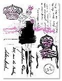 Wheatpaste Art colectiva Pasarela Seguros por Joan Coleman Lienzo, 24por 76,2cm