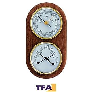 TFA 20.1051 – Estación meteorológica analógica (previsión para 12 a 24 Horas)