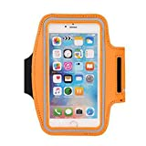 [Orange]Armband For Running Fashion Arm Package Cell Phone Armband Sport Armband