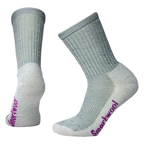 Smartwool Damen Socken Strümpfe Women's Hike Light Crew, Grau (Light Gray), 38-41 (M) -