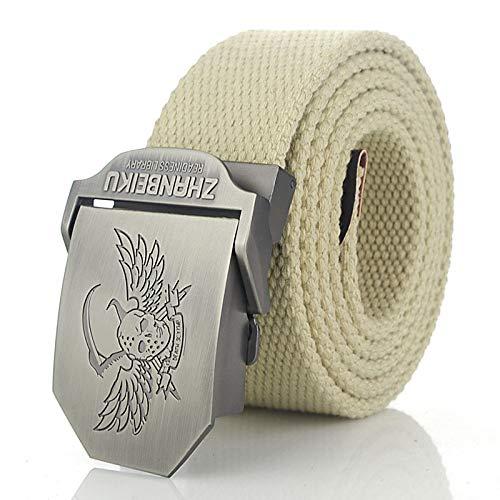 LLZGPZPD Cinturón De Lona Cinturón De Lona De Los Hombres Cinturón Militar...