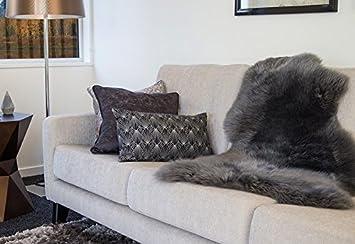 Schaffell teppich couchauflage bettvorleger hochflor langflor