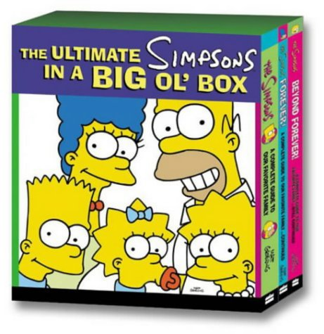 The Ultimate Simpsons in a Big Ol' Box: A Complete Guide to Our Favourite Family Seasons 1-12