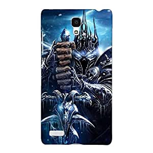 Jugaaduu World Of Warcraft Back Cover Case For Redmi Note 4G