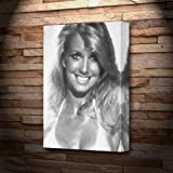 HEATHER THOMAS - Canvas Print (A5 - Signed by the Artist) #js001