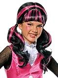 Karneval Kinder Monster High Perücke Draculaura zum Kostüm