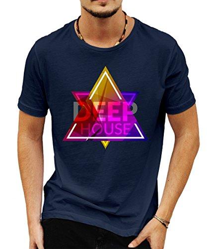 DaBest -  T-shirt - Uomo Blue Large