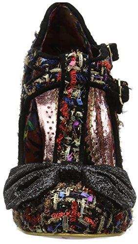 Irregular Choice Sundae Sprinkles, Scarpe Col Tacco Donna Black (Black)