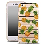 blitz versand germany Art Kunst Schutz Hülle Transparent TPU Cartoon Ananas süss M5 Samsung Galaxy S5 Mini
