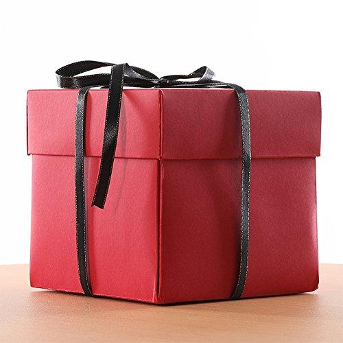 Fiesta de cumpleaños sorpresa caja de regalo de sorpresa Álbum de fotos de...