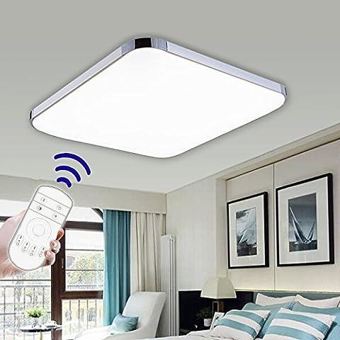 Hengda® 36W Modern LED Deckenleuchte Deckenlampe Wohnzimmer bad Küche Panel Leuchte Dimmbar
