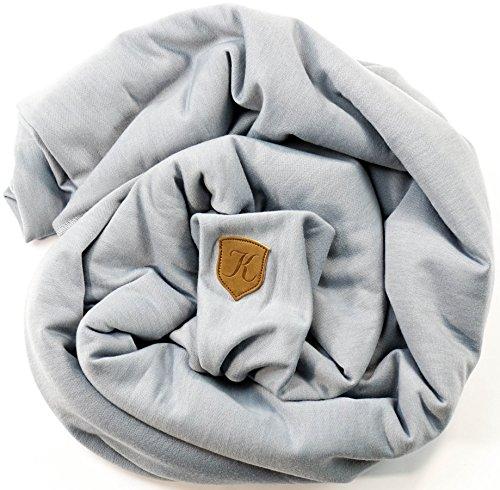 Babytragetuch - bei 60 Grad waschbar - für Neugeborene und Babys bis 15kg - inkl. Trageanleitung und Aufbewahrungsbeutel - liebevolles Design von Kreuzer - 2
