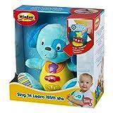Winfun - Peluche Perro para bebés que habla & luces de colores -...