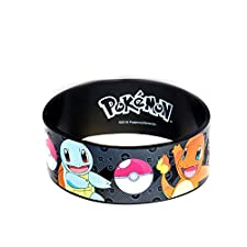 Pokemon Starter Pokemon Youth Bracelet en silicone