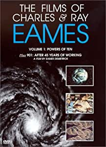 The Films of Charles & Ray Eames - The Powers of 10 (Vol. 1) [Import USA Zone 1]