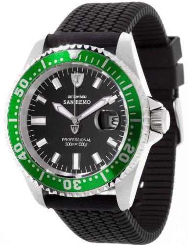 DETOMASO Herren-Armbanduhr San Analog Quarz DT1025-J (Iwc-uhr)
