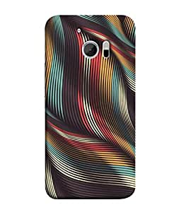 PrintVisa Designer Back Case Cover for HTC 10 :: HTC One M10 (Texture Illustration Background Backcase Pouch Graphics)
