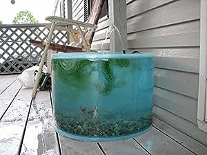 Garden water feature pop up pond aquarium for Outdoor aquarium uk