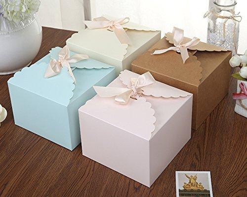 Chilly scatole regalo, set di 12 scatole regalo decorative, homemade treats scatole, natale, compleanni, vacanze, laurea, matrimonio regalo scatole