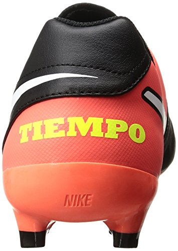 Nike 819213-018, Chaussures de Football Homme Noir (Black/white-hyper Orange-volt)