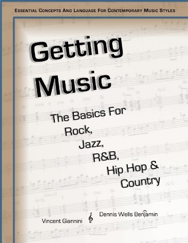 Getting Music: The Basics For Rock, Jazz, R&B, Hip Hop & Country by Vincent Giannini (2014-01-01)