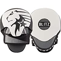 Blitz Unisex's 10340 Born To Fight Focus Pads, Black, One Size