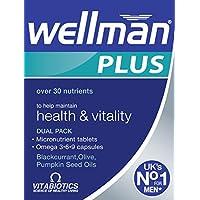 Vitabiotics Wellman Plus Omega 3∙6∙9 - 56 Tablets/Capsules