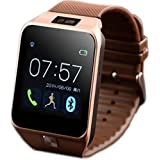Teconica Smart PV-09 4G Mobile Watch with Camera, SD Card, Sim-Card Supported, MP3/ MP4 Player Compatible with All Android, iOS and Windows Device (Colour May Vary)