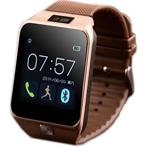 Gradeo DZ09 Bluetooth SmartWatch with SIM/TF Card Slot, Camera, Whatsapp, Facebook, Alarm Compatible with All Android,iOS & Windows Device (Assorted Colour)