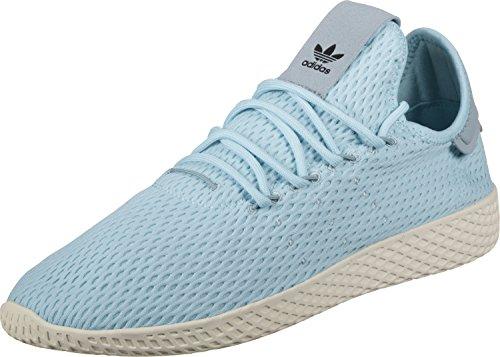 adidas Originals Pharrell Williams Tennis Hu_Baskets Homme, Gris (Carbon/Carbon/Blatiz 000), 43 1/3 EU