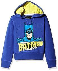 Batman Boys Sweatshirt (BM1DHB159_Royal Blue Melange_2/3)