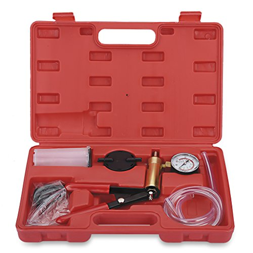 VETOMILE Conjunto Kit de Bomba de Vacío Portátil Purgador de Frenos Vacuum...