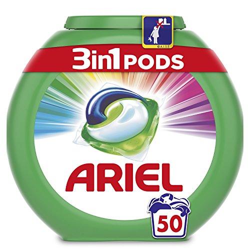 Ariel 3en1 Pods - Detergente En Cápsulas, Color & Style,...