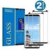 KUTUKU Galaxy S9 Plus Film Protection Ecran Verre Trempé, [2 Pièces] [Dureté 9H]...