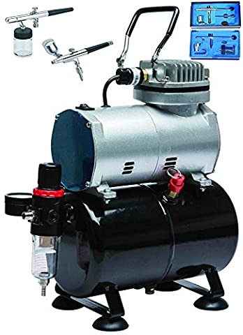 Vivo© Complete Professional Nail Salon Airbrush Compressor Kit with 3L