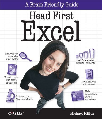 Head First Excel: A learner's guide to spreadsheets (Head First Guides) (English Edition)